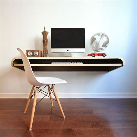Floating Laptop Desk Ikea Floating Desk Selections With Lack Shelf Homesfeed