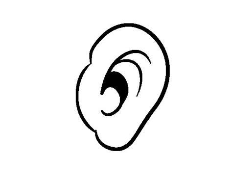 human ear coloring page human ear coloring page coloringcrew com
