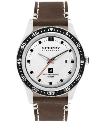 sperry top sider s chronograph mariner brown
