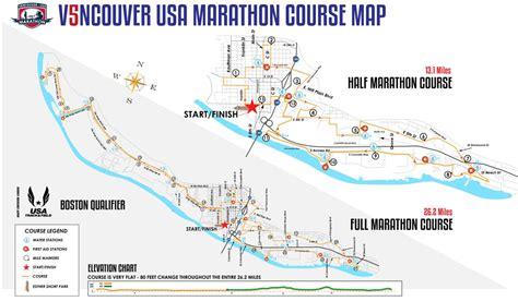 vancouver usa map best marathons in washington runner s choose washington