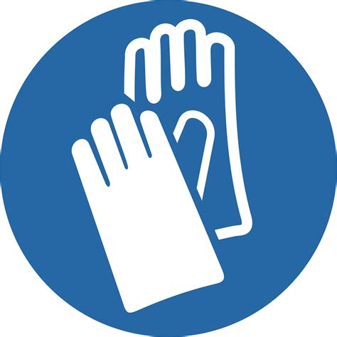 preproom org mandatory signs wear protective gloves