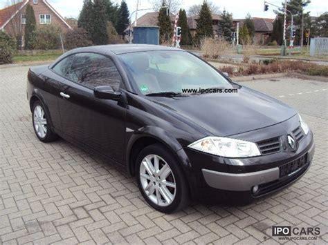 2004 Renault Megane 2 0 Turbo Cabriolet Leather 118 000