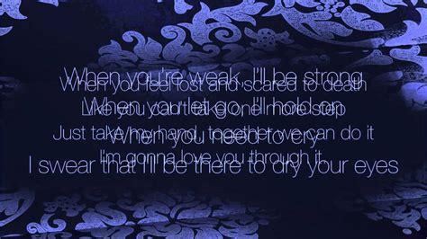 lyrics of by martina mcbride i m gonna you through it with lyrics martina