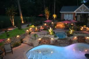 Garden lighting lamp and lighting ideas