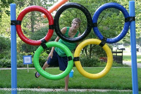 backyard olympics backyard olympic games hoosier homemade