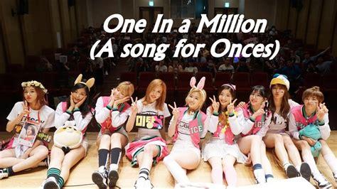 One In A Million fmv 트와이스 we re one in a million