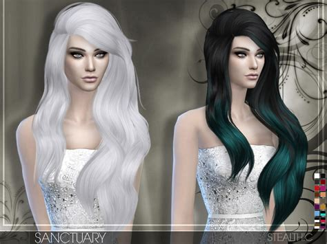 vanity female hair by stealthic at tsr sims 4 updates stealthic sanctuary female hair