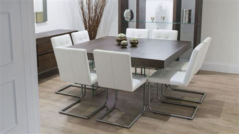 8 seater square dining room table 6 8 seater dining table and chairs room photo