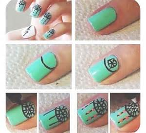 easy nail art for beginners step by step tutorials