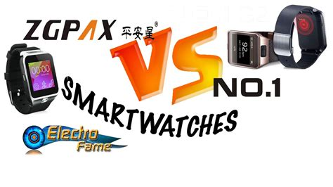 Smartwatches No 1 no 1 g2 vs zgpax smartwatches comparison of 5 the best