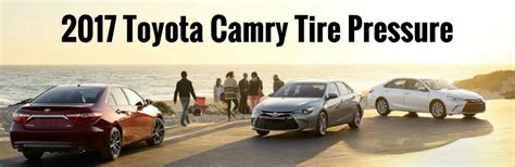 recommended tire pressure    toyota corolla