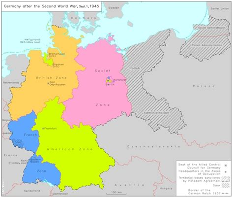 map of germany in 1945 ghdi map