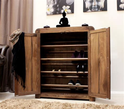 walnut shoe storage cabinet walnut furniture shoe storage cabinet cupboard ebay
