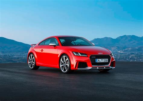 Audi Tt Preis by The Audi Tt Rs Coupe And Roadster Are Already Price To