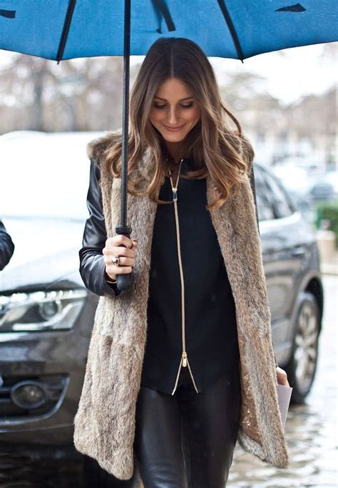 with fur vest s fur vests to invest this fall 2018 fashiontasty