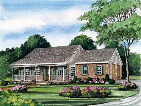 house plans with wrap around porches single story one story house plans with porch one story house plans
