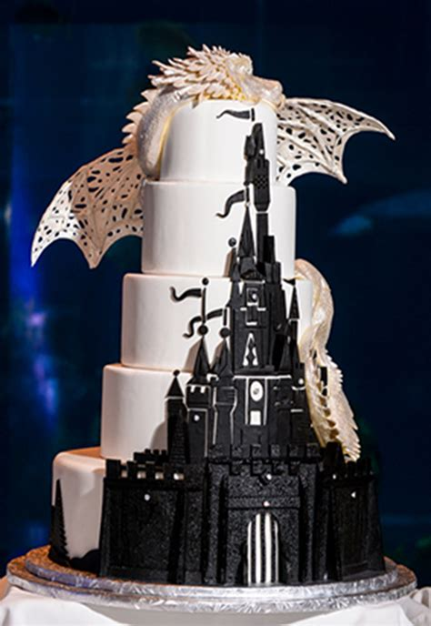 fall in love with these disney inspired wedding cakes oh