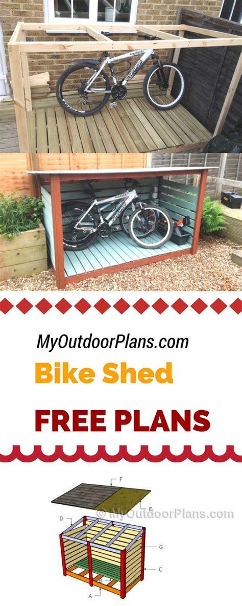 Upright Bike Shed by Best 25 Bike Shed Ideas On Garden Bike