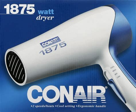 Conair 1875 Hair Dryer Travel august equipment