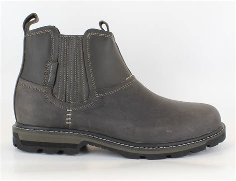 skechers mens boots uk new mens skechers blaine orsen leather chelsea dealer
