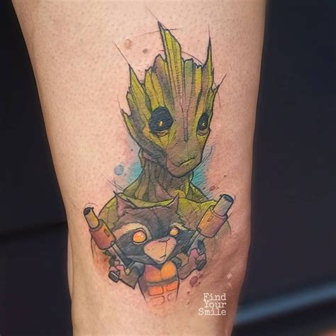 guardians of the galaxy tattoo 59 brilliant reasons to get watercolor tattoos tattoomagz