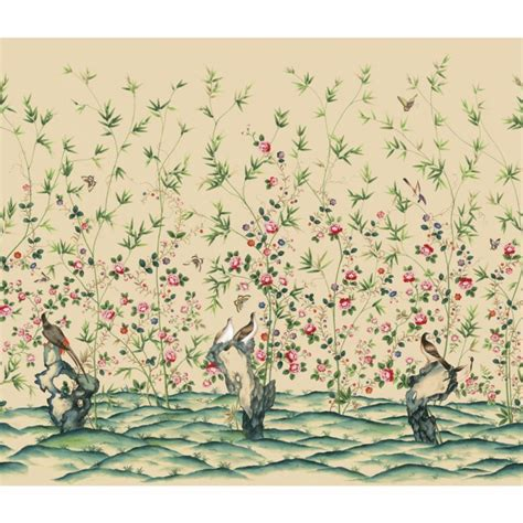 chinoiserie wallpaper discount wallcovering chinoiserie chic wallpaper mural mey037