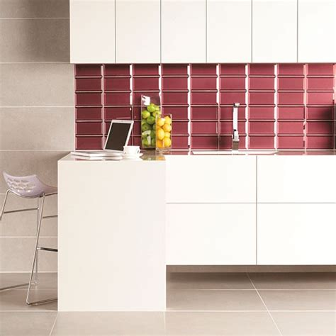 bevel tile splashback in ulysses from original style