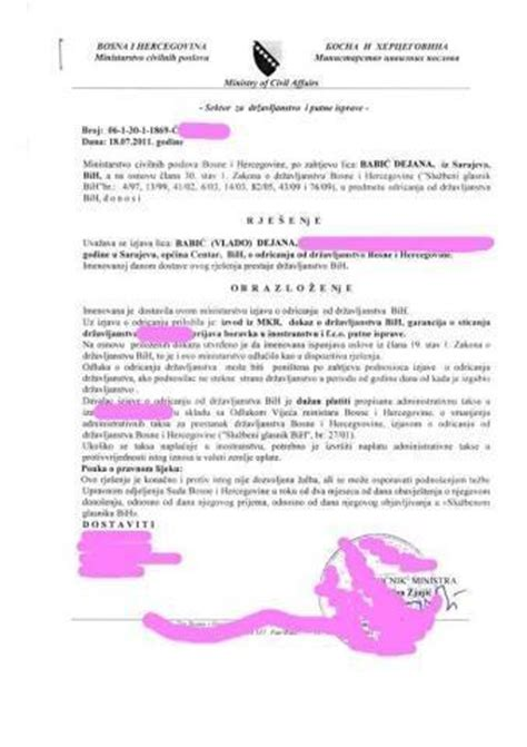 Lebenslauf Staatsburgerschaft Deutschland Kosten F 252 R Einb 252 Rgerung Bosnien Zur Deutschen