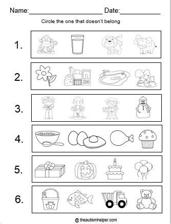 What Doesn T Belong Worksheet