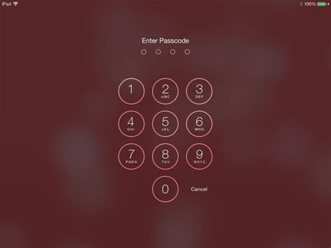 Q Q Numeric Pink objective c can i use the ios 7 numeric passcode