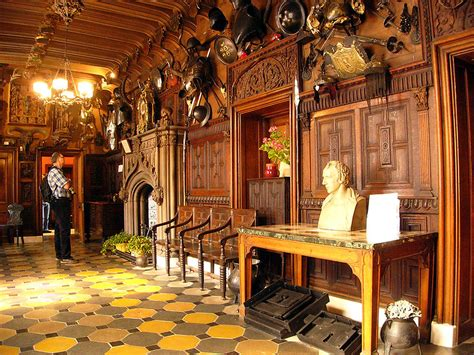 Scottish Baronial Style Interiors by File Abbotsford04 Jpg Wikimedia Commons