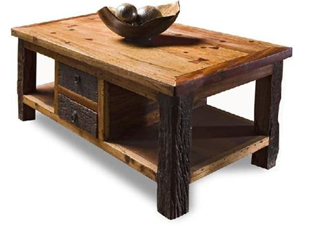 astonishing classic of rustic wood coffee table rustic