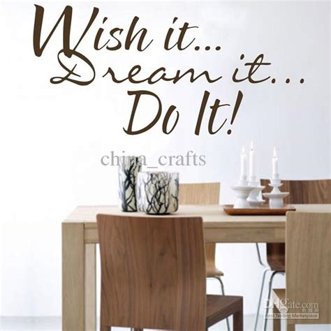 quotes on home decor 39x80cm do it wall quotes stickers home wall decals living