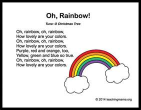 colors song lyrics 10 preschool songs about colors