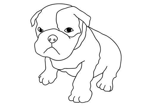 puppy coloring page free printable coloring pages for