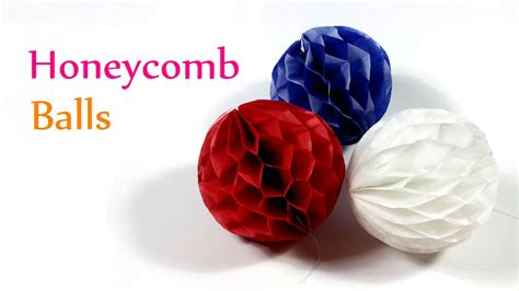 Paper Balls Craft - diy crafts honeycomb balls innova crafts