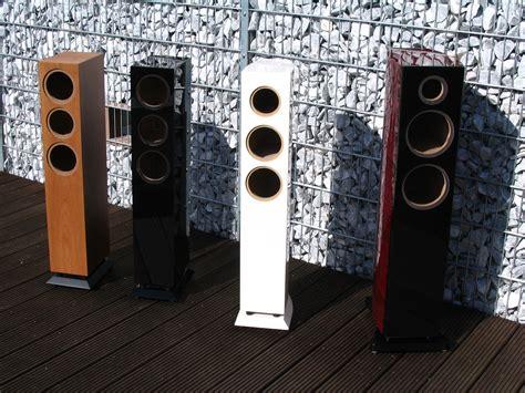 Lautsprecher Schwarz Lackieren lautsprecherbau thomaier hochglanz schwarz lautsprecher