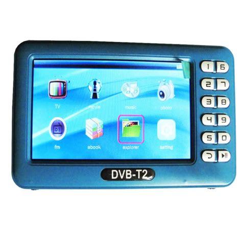 dvb t2 dvb t dvbt2 dvbt mini tv receiver with antenna 4 3 inch lcd screen tv player box for dvb