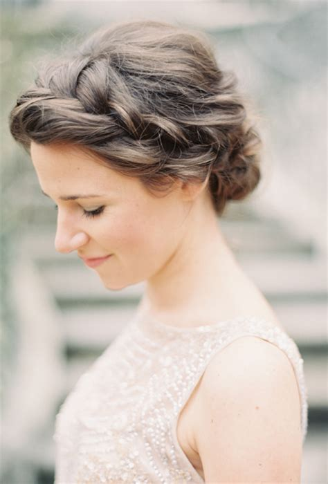 Bridal Hairstyles Side Braid by Braided Side Bun Hairstyle A Braided Side