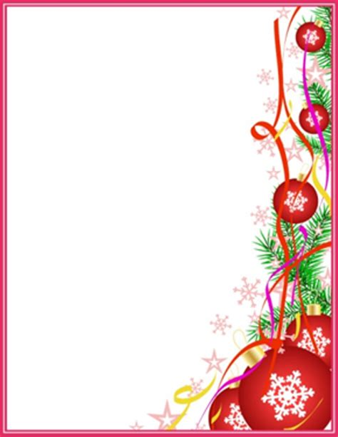 christmas letterhead envelopes labels printable xmas