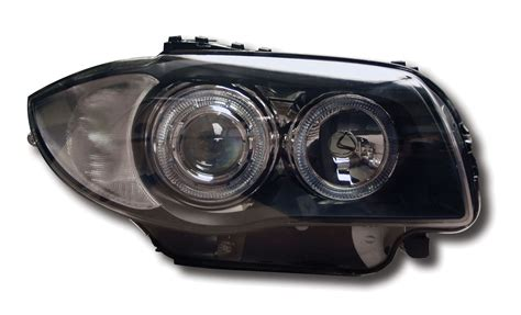 Bmw 1 Series E87 Headlights by Black Halo Ring Projector Headlights Bmw 1 Series E81 E82
