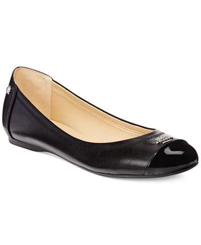 flat shoes coach coach chelsea flats shoes macy s