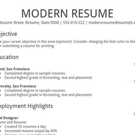 Resume Docs by Docs Resume Builder All Resume Simple