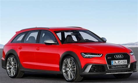 Audi Rs6 Verbrauch by Audi Rs 6 Allroad 2017 Illustration Autozeitung De