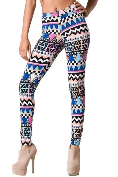 tribal pattern leggings outfit black ivory tribal print leggings leggings tribal