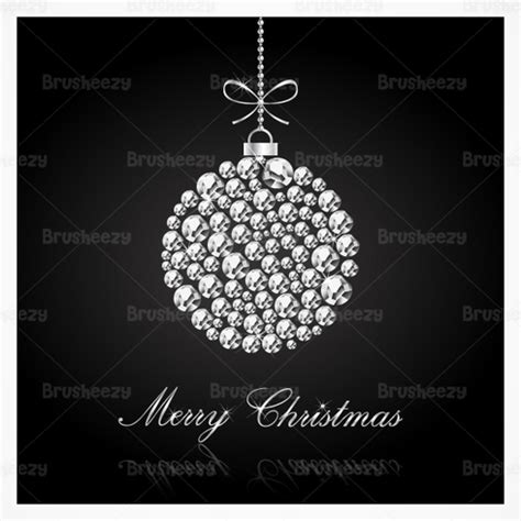 diamond studded christmas vector background download