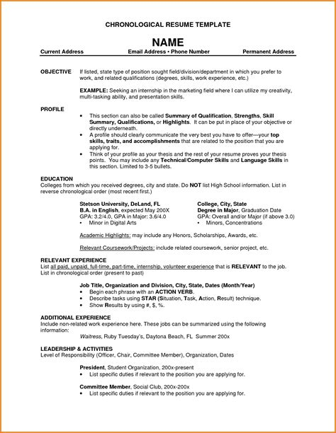 what are resume titles resume ideas