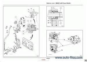 massey ferguson tractors 5400 series repair manuals