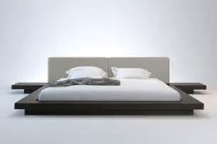 worth modern platform bed modloft