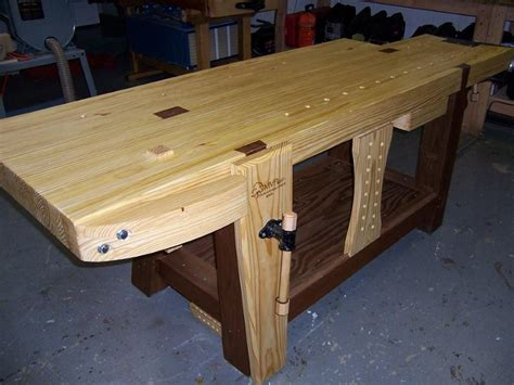woodwork bench plans woodwork plans building a wood workbench pdf plans